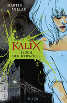 German edition of Curse of the Wolf Girl by Martin Millar